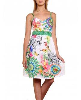 101 Idees Sommerkleid mit floralem Muster *Modessa | 1702