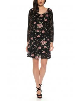 101 Idees Lace dress with floral pattern * Flower N`Tulip | A1154