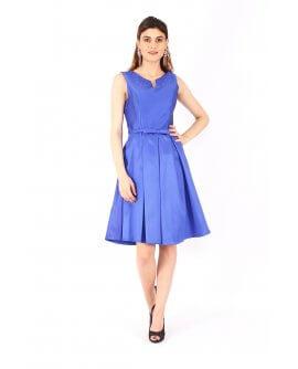 Klassisches Cocktail-Kleid von Juju&Christine Royal Blau | R1528