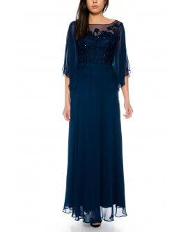 Kleid R8130-Marineblau